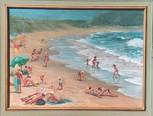 WATER BEACH INSPIRED ART