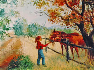 Country Life Oils 1980s