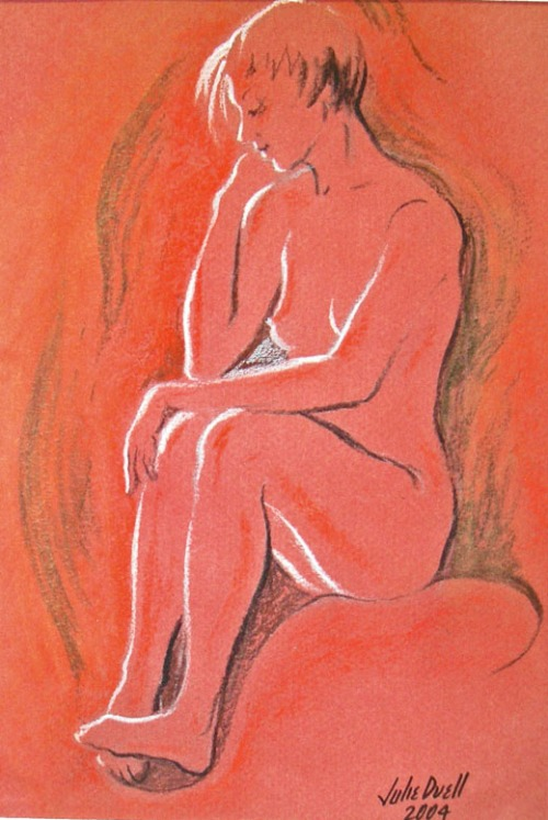 figure-study-on-red