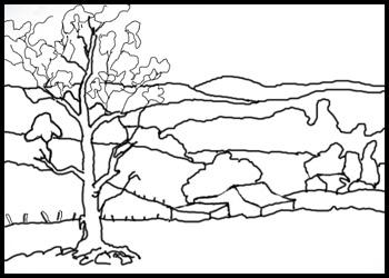 Overlapped terrain