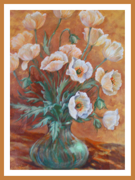 Flower Painting Composition Free Art Lessons Gallery With